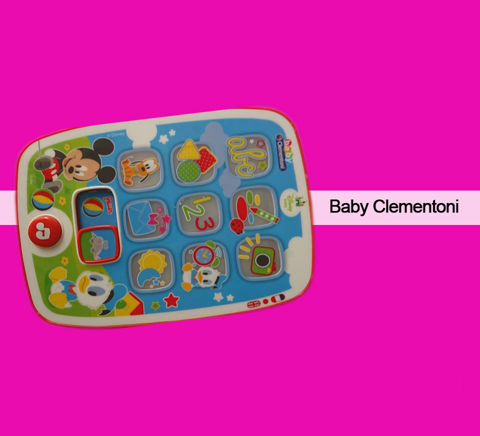 Baby Clementoni Tablette